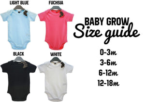 Mummy's Little Man Babygrow Cute Daddy's Favourite Newborn Baby Shower EBG18