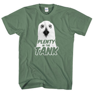 Plenty in the Tank T-Shirt Funny Video Owl Sick Mens Women Bloody Good Shot L108
