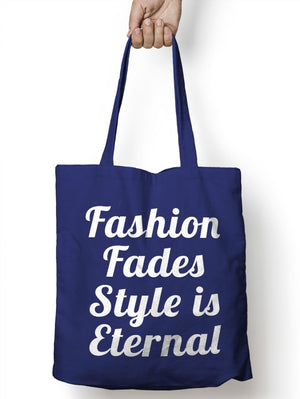 Fashion Fades Style Funny Shopper Tote Food Womens Shopping Bag for Life E24