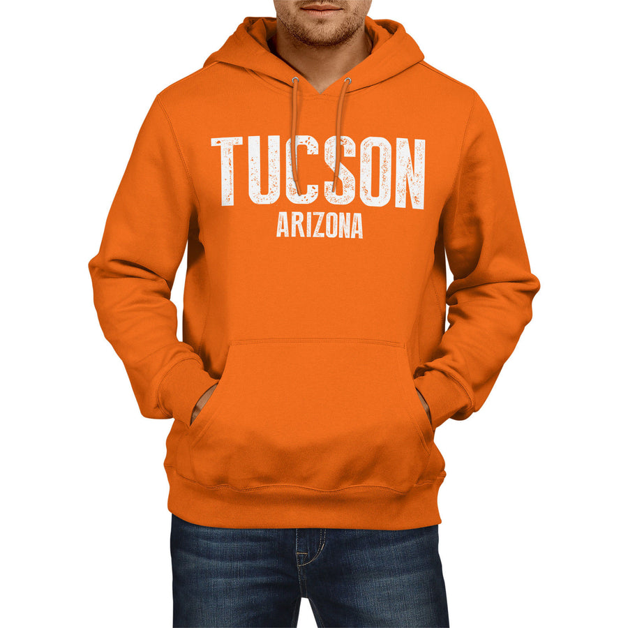 Tucson Arizona SLOGAN Mens US State HOODIE America Football Hoody Sweatshirt USA