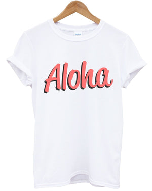 Aloha T Shirt Inct Top Summer Urban Hawaii Fresh Holiday Mens Womens Kids