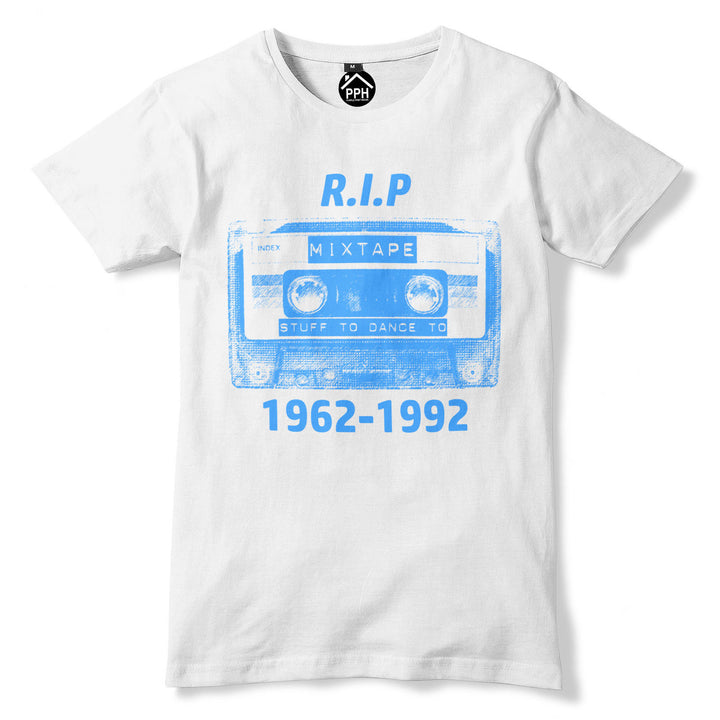 RIP Cassette Tape T Shirt Old School 80s 90s Music Tshirt Top Disco Dance 356