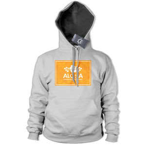 Aloha Orange Box Hawaii Hoodie Tropical Flowers Sea Hoody Geek Surfing Rad 368