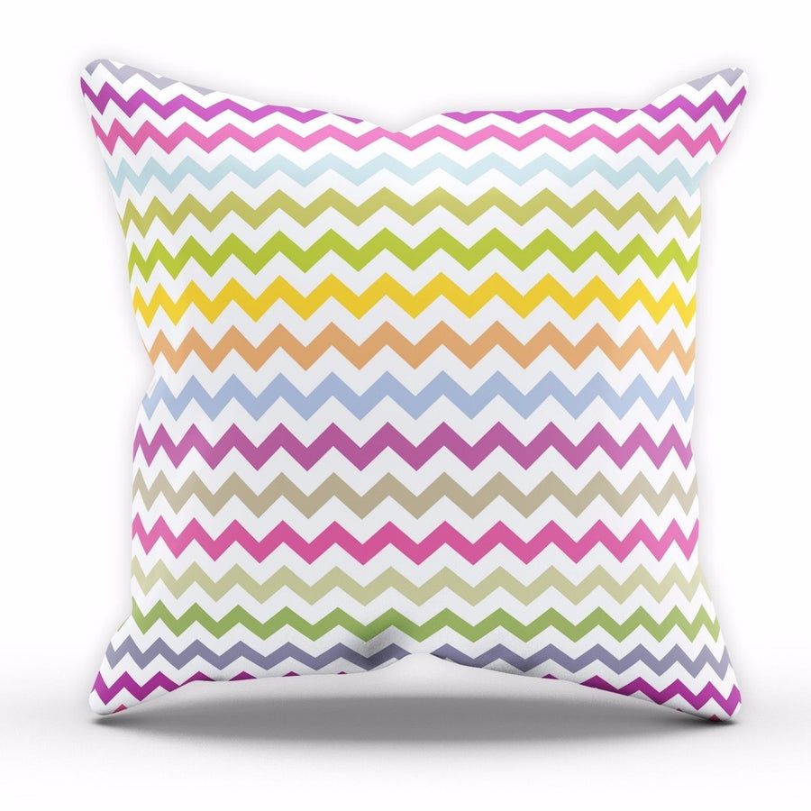 Chevron Cushion Pattern Colour Print Kitchen Lounge Novelty Fun Pillow NEW C26