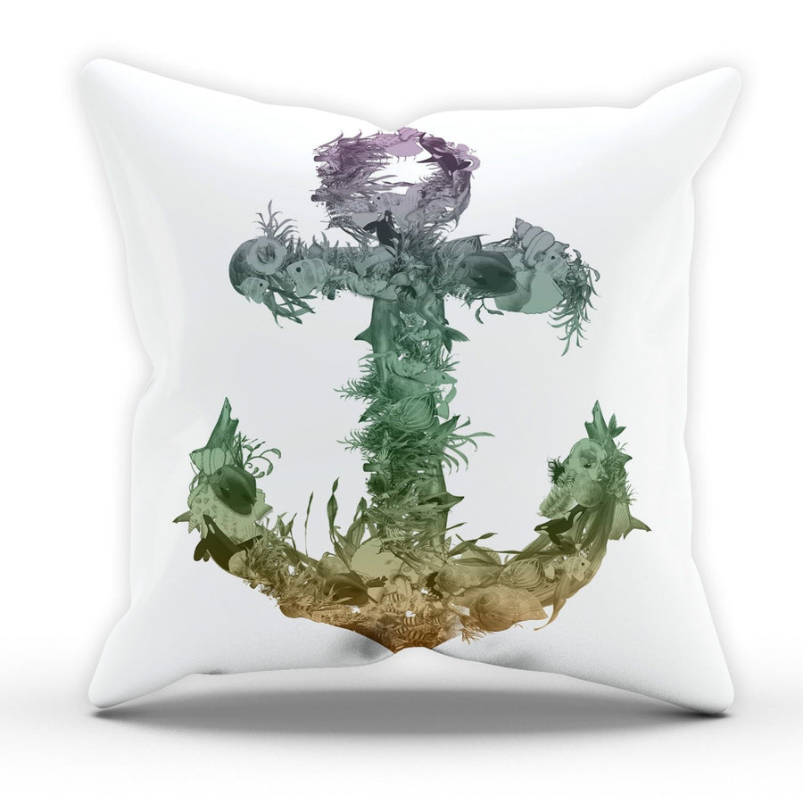 Sea Anchor Cushion Pillow Nautical Living Room Fresh Home Decor Furnishings