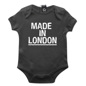Made In London Baby Grow Cockney Body Suit Funny Gift 634