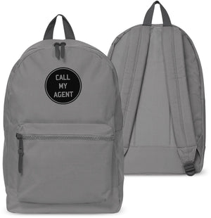Call My Agent Back pack Attitude Swag Holdall Bag School Dope Hipster Girls 6