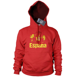 Spain Football Hoodie Espana Hoody Gift Sweater Train World Cup Barca Madrid B40