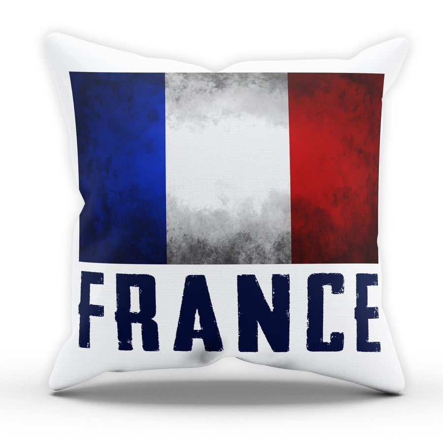 France French Flag Pillow Cushion Pad Cover Case Bed National Country Gift Blues