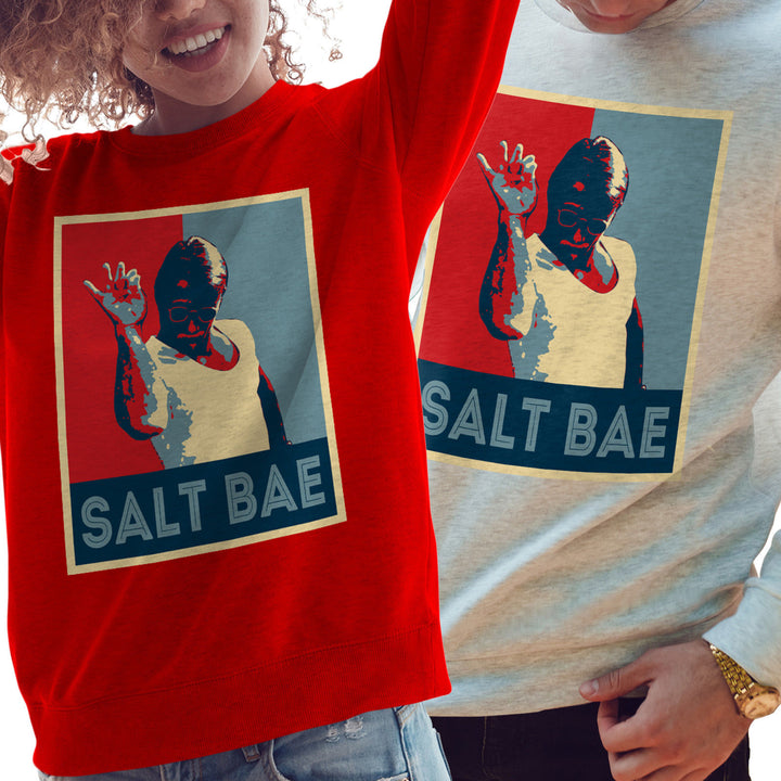 Salt Bae Sweatshirt Funny Instagram Blogger Nusret Gökçe Chef Jumper Sweat 806