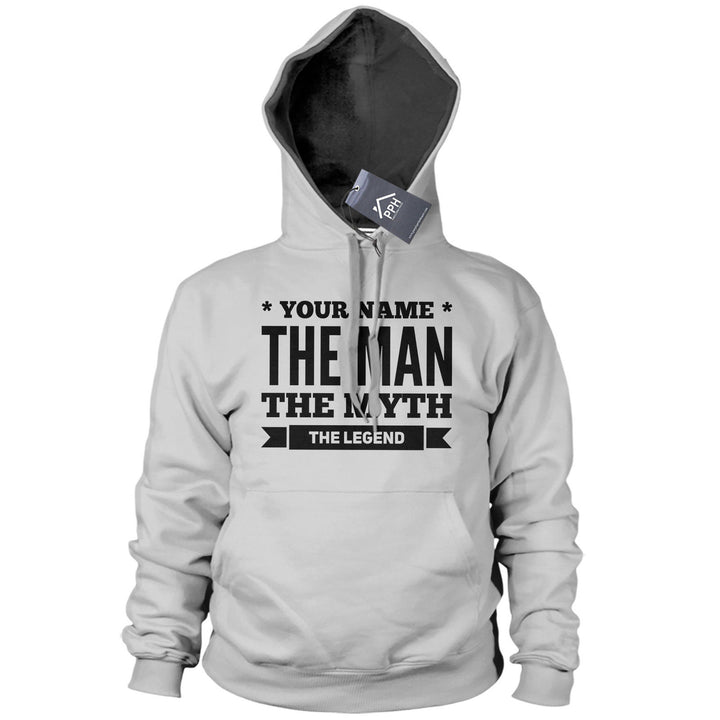 Personalized The Man The Myth The Legend Funny Hoodie Gift Top fathers Day 507