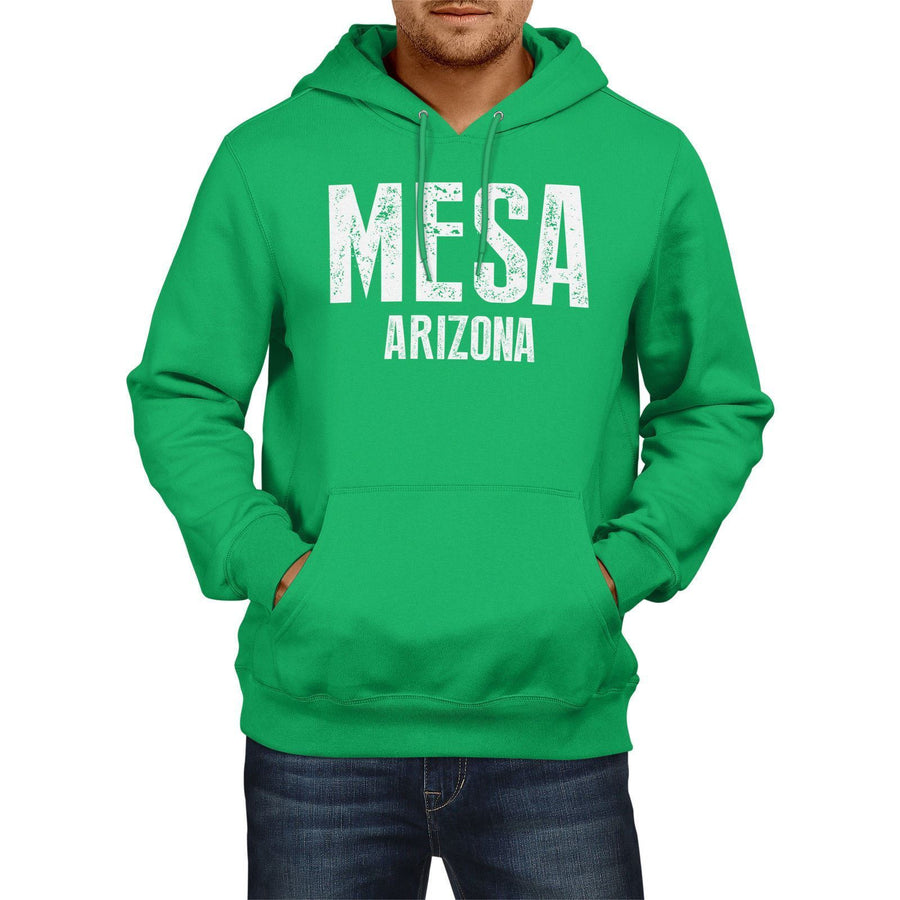 Mesa Arizona SLOGAN Mens US State HOODIE America Football Hoody Sweatshirt USA