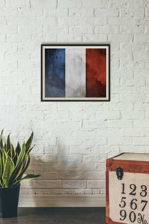 France Poster Print Paris Photo Print Francais Picture World Flag Gift PP130