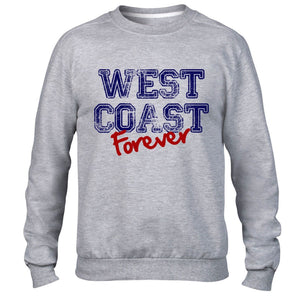 West Coast Forever America USA Mens Sweatshirt LA VEGAS CALI Womens Sweater Top