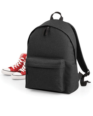 School BACKPACK 2 Tone Fashion Bag Boys Girls Unisex College Plain Book Cool Gym
