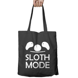 Sloth Mode Funny Geek Lazy Sleep Chill Shopper Tote Bag Shopping Gift 505