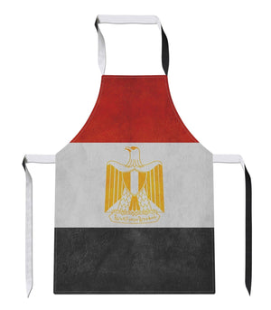 Vintage Egypt Country Flag Luxury Novelty Football APRON Gift Kitchen Tabard