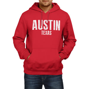 Austin Texas American State Hoodie Mens Womens Boys Girls USA Football Baseball