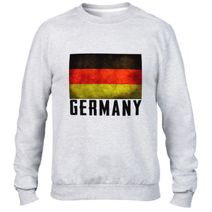 Germany German Mens Top Sweatshirt Sport Football Sweater Fans World All Sizes