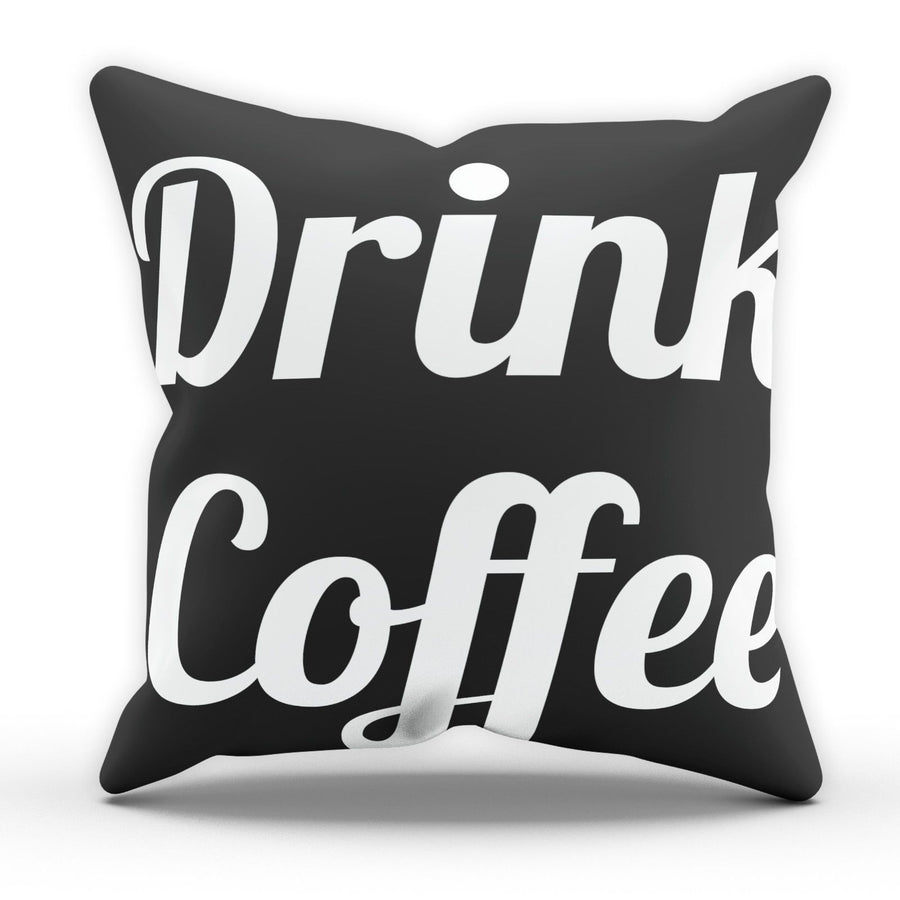 Drink Coffee Pillow Cushion Pad Cover Case Bed Home Family Kitchen Tea Hot