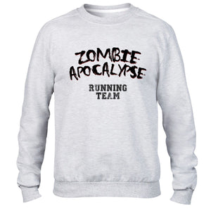 Funny Mens Hoodie The Hardest Part About A Zombie Apocolypse