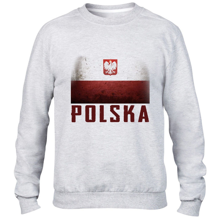 Poland Mens Sweatshirt Womens Sport Football Sweater All Sizes training Polski