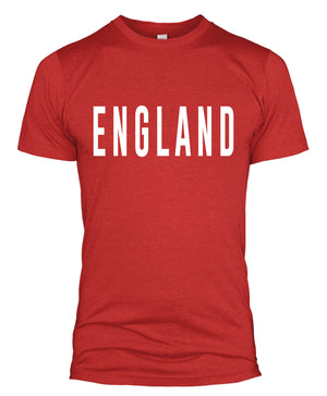 England Text T Shirt Slogan Retro Clothing Supporter Men World Cup Women  L254
