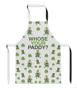 Whose Your Paddy Ireland Irish St Patricks Day Cook Kitchen BBQ APRON Tabard A46