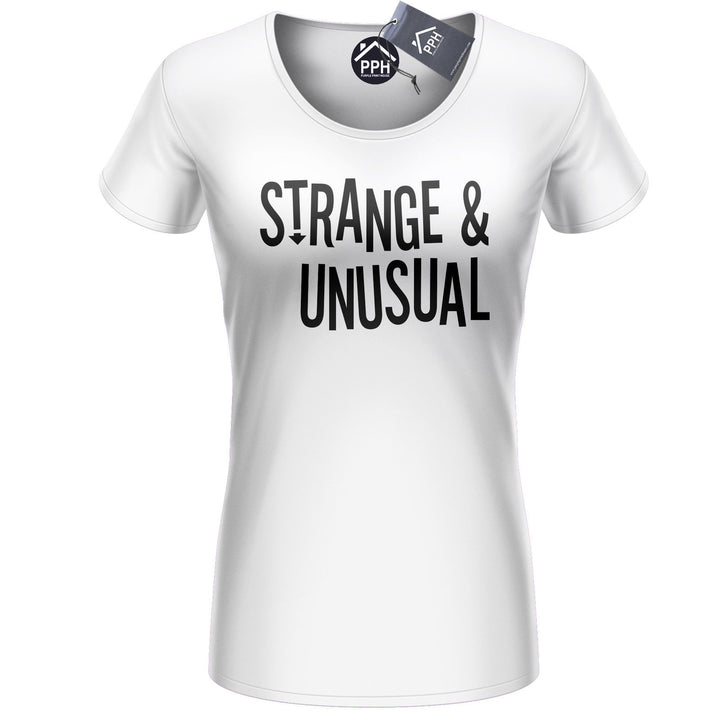 Strange and Unusual Womens Tshirt Halloween Costume Freak Ladies Top Girls 446