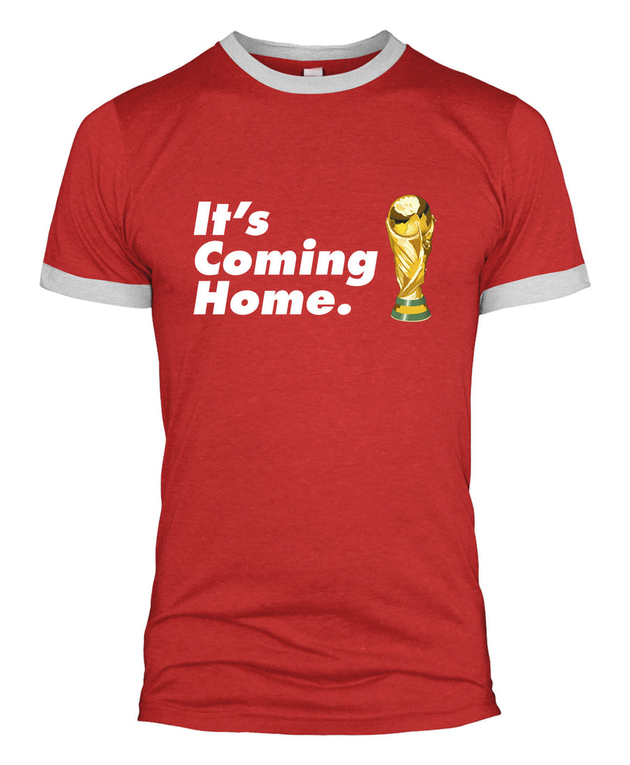It's Coming Home T-Shirt Englands World Cup Football 2018 Men Women Kids L279