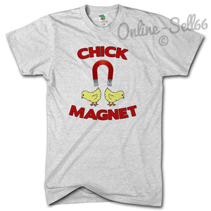 Chick Magnet Funny Mens Party Holiday Tshirt T Shirt Present Birthday Summer