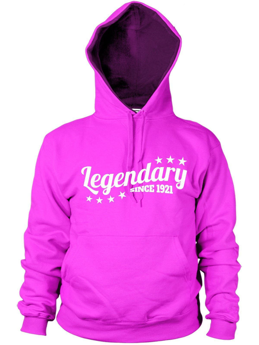 Legendary Since 1921 Hoodie Birthday Gift 95 96 Years Old Present
