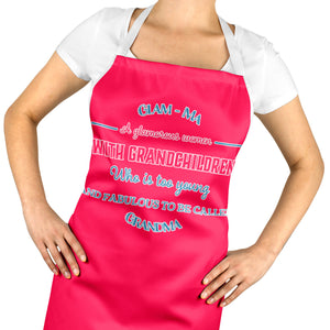 GLAM - MA Grandma Apron - Nan Love Gift Christmas Birthday Mothers Day ST61