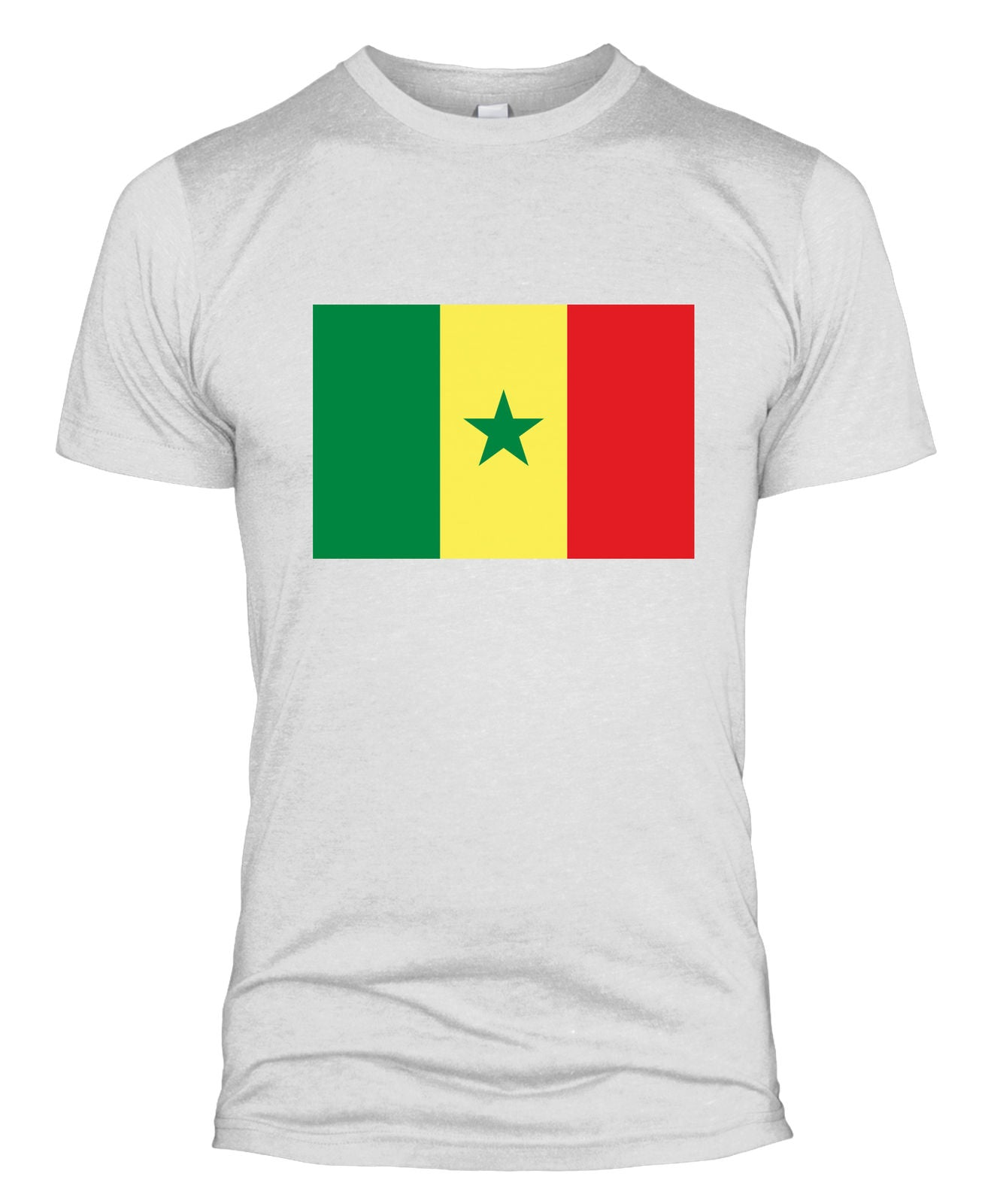 new arrivals cedaf 46aa1 Senegal Flag T Shirt Country National Football Team Kit World Cup Men Women  L254 - The Clothing Shed