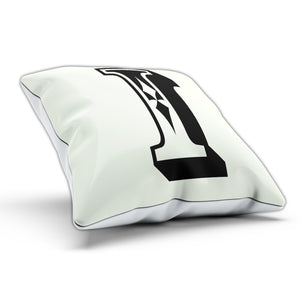 I Rose Letter Cushion Pillow Personalised Home Gift Present Novelty Furnishings
