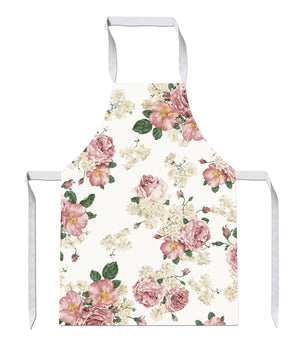 Pink Floral Pattern Print Kitchens Novelty Funny APRON Kitchen Tabard Linen 23