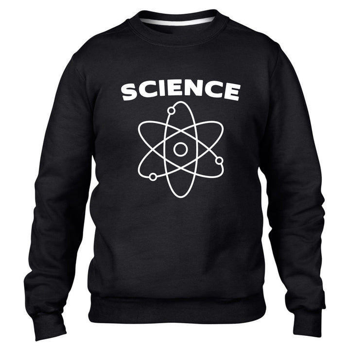 Science Atom Funny Mens Sweater Jumper Geek Nerd Big Bang Sweatshirt Top