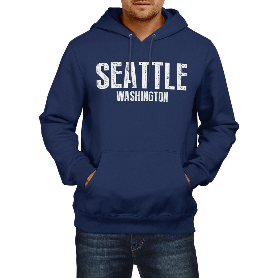 SEATTLE WASHINGTON American Home State Hoodie Mens Football Womens Seahawks USA