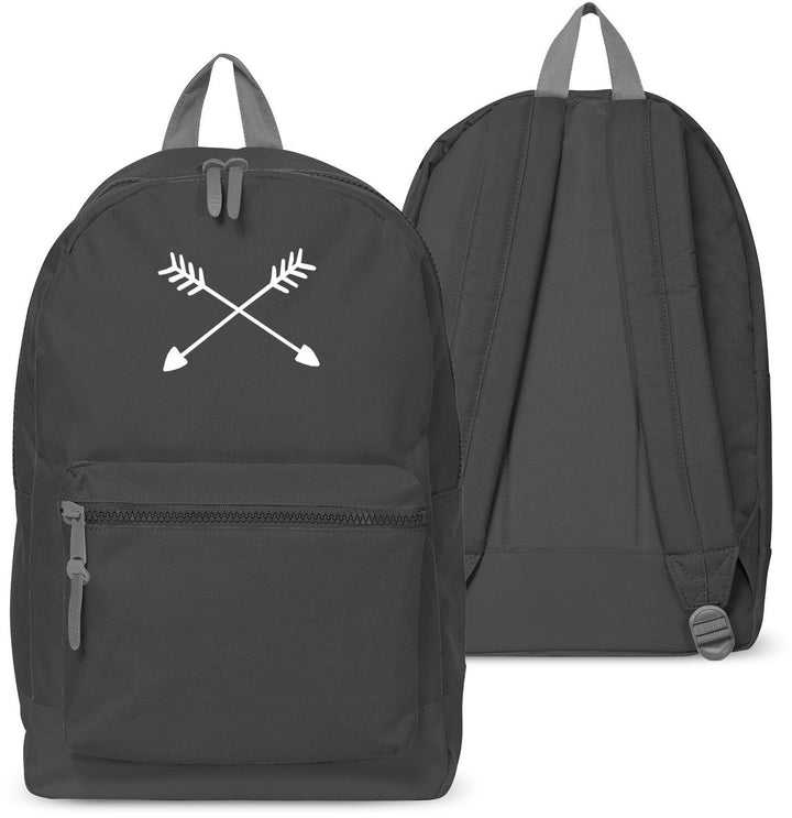 Hand Drawn Arrows Backpack Boys Girls School Bag Jon Snow Uni Stark 35
