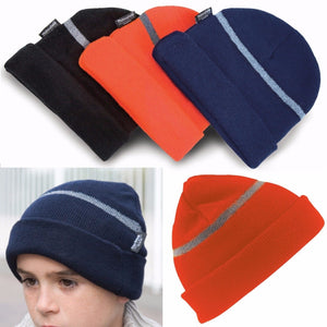 Result Winter Childrens Woolly Ski Hat Thinsulate Boys Girls School Uniform Cold