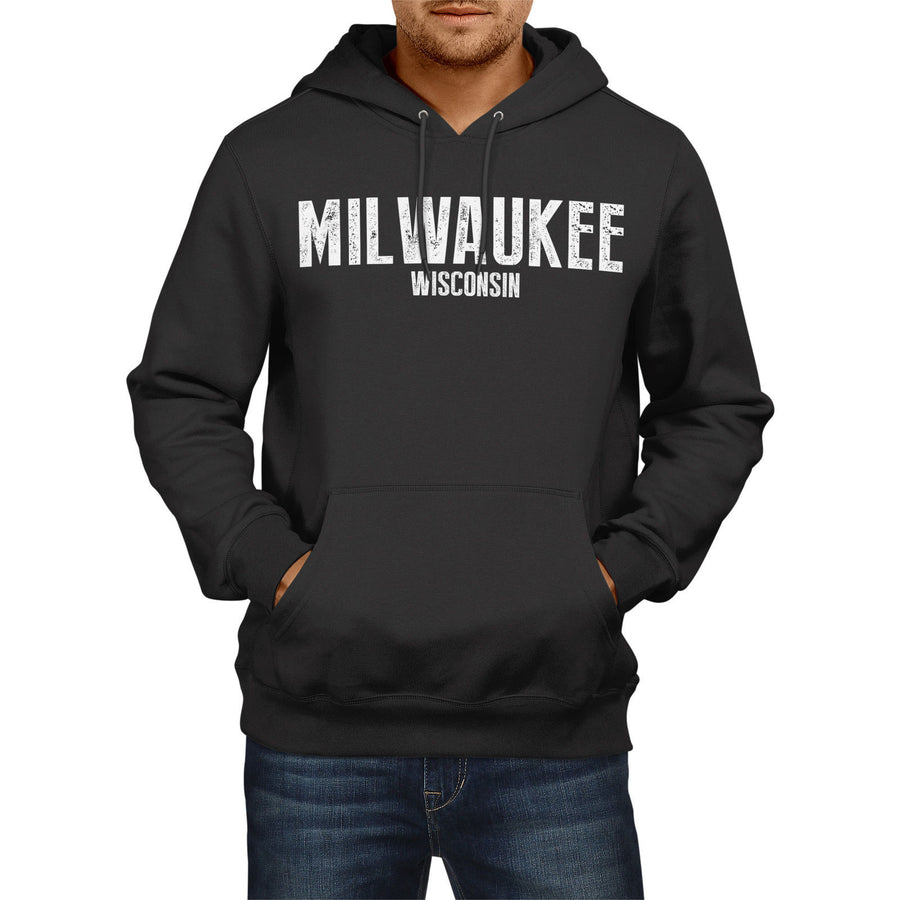Milwaukee Wisconsin SLOGAN US State City Womens Mens USA Football America Fans