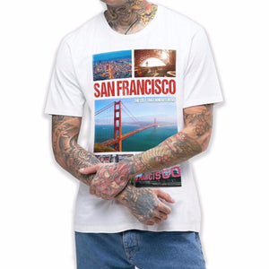San Francisco T Shirt Golden Gate T Shirt Mens Fashion Holiday Summer Dope 699