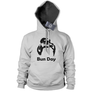 Bun Hair Day Womens Hoodie Make Up Novelty Princess Street Hoody Top Ladies 407