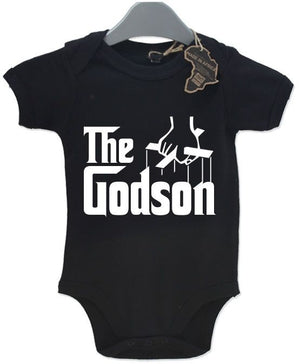 The Godson Baby Grow BabyGrow Funny Birthday Gift Present Playsuit Newborn Boy
