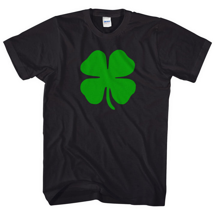 4 LEAF CLOVER SHAMROCK T SHIRT ST PATRICKS DAY FANCY DRESS MEN WOMEN LLUCKY L23
