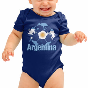Argentina Football Shirt Messi Baby Grow Pumas Romper Suit Babygrow SuitB40