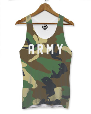 Army Camouflage Mens Vest Swag Military Singlet Sleeveless Combat Tank 100