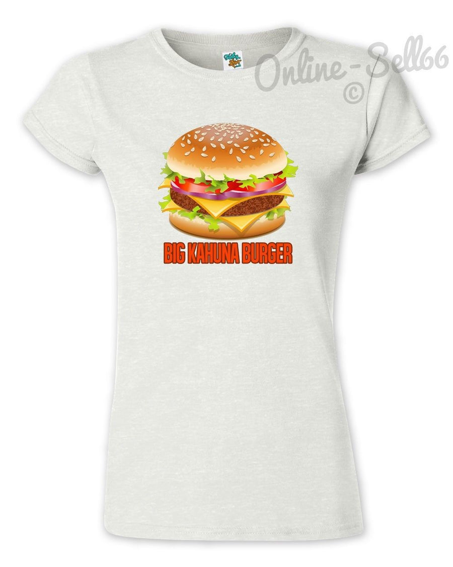 Big Kahuna Burger Funny Tshirt Mens Womens Cult Inspired Mod T Shirt Top Food