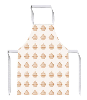 Orange Cupcake Pattern Bake Kitchens Novelty Funny APRON Kitchen Tabard Linen 29
