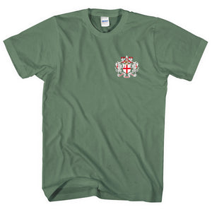 City Of London Coat of Arms Pocket Logo T Shirt Men Women Kid St George Day L265